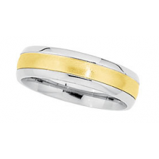 CONTEMPORARILY METAL WEDDING BANDS